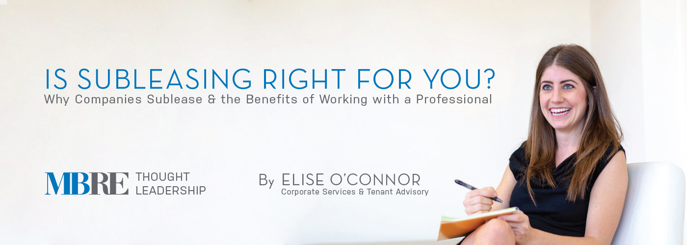 Is Subleasing Right for You - Elise O'Connor